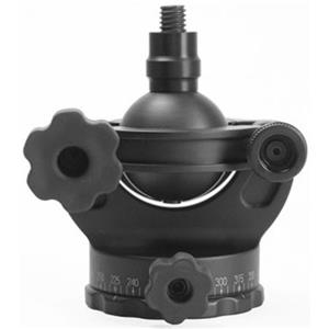 Trustworthy GV2 Ballhead with Gimbal Feature, with all Rubber Knobs, Without Quick Release, Supports 25 lbs. Product photo