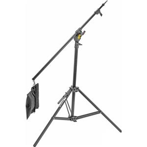 Stunning 13.5' Baby Alu Combo Boom Compact Lightstand, Black Product photo