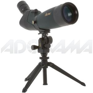 Reliable 20-60x80 45 Angle Eyepiece Waterproof Porro-Prism Spotting Scope Kit with Tripod and Aluminum Travel Product photo