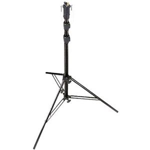 Exquisite 10' High Self Locking, Air Damped Lightstand, 3 Sections, Black Anodized (# 3344B) Product photo