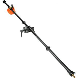 """Check out the 3 Piece Boom Assembly (Black Anodized) w/10 lb. Counterweight, 6'8"""" Long (#3385) Product photo"""