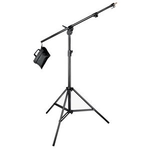 Purchase Boom Stand 420 (Black Anodized), 3-Section Stand Convertible to Double Extension Boom and Stand, w/S Product photo