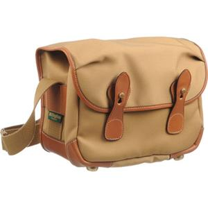 Money saving L2 (Alice) Camera Bag, Khaki Canvas with Tan Leather Trim and Brass Fittings Product photo