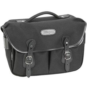 Superb Hadley Pro, Small SLR Camera System Shoulder Bag, Black with Black Leather Trim. Product photo