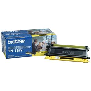 Reliable TN115Y High Yield Yellow Toner Cartridge, Approximate 4,000 Page Yield Product photo