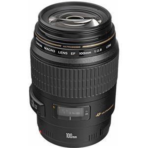 Stunning EF 100mm f/2.8 USM Macro Auto Focus Lens - USA Warranty Product photo