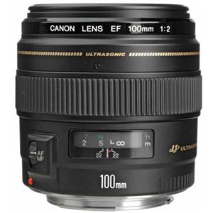 Splendid EF 100mm f/2 USM Medium Telephoto AutoFocus Lens - USA Product photo