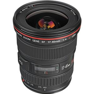 Purchase EF 17-40mm f/4L USM Ultra Wide Angle Zoom Lens with Case and Lens Hood - USA Product photo