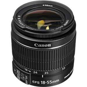 Superb EF-S 18-55mm f/3.5-5.6 IS II Auto Focus Lens - U.S.A. Warranty Product photo