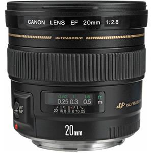 Precious EF 20mm f/2.8 USM AutoFocus Ultra Wide Angle Lens - USA Product photo