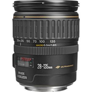 Exquisite EF 28-135mm f/3.5-5.6 IS USM Image Stabilized AutoFocus Wide Angle Telephoto Zoom Lens - USA Product photo