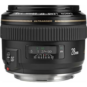 Check out the EF 28mm f/1.8 USM AutoFocus Wide Angle Lens - USA Product photo