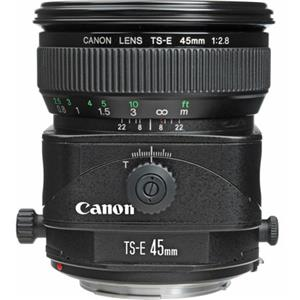 Purchase TS-E 45mm f/2.8 Tilt and Shift Manual Focus Lens - USA Product photo