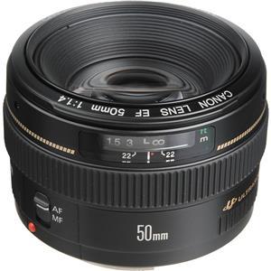 Longstanding EF 50mm f/1.4 USM Standard AutoFocus Lens - USA Product photo