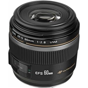 View EF-S 60mm f/2.8 Compact Macro AutoFocus Lens - USA Product photo