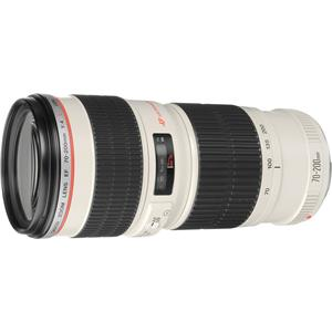 Amazing EF 70-200mm f/4L USM Autofocus Telephoto Zoom Lens with Case & Hood - USA Product photo