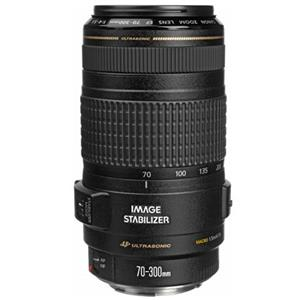 Design EF 70-300mm f/4-5.6 IS USM Autofocus Telephoto Zoom Lens - USA Product photo