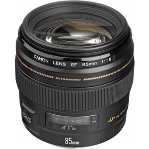 Remarkable EF 85mm f/1.8 USM AutoFocus Telephoto Lens - USA Warranty Product photo