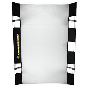 Unique Mini Textile & Frame Kit, 3x4' Silver with White Backing Product photo