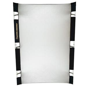 Excellent Pro 4x6' Reflector Kit Silver/White Product photo