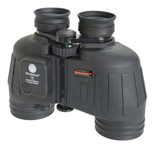 One of a kind 7x50 Oceana Marine Water Proof Porro Prism Binocular with 7.5 deg. Angle of View, Compass & Reti Product photo