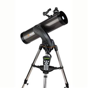 "Check out the NexStar 130 SLT, 130mm (5.1"") diameter Newtonian Reflector Telescope with Motorized Altazimuth  Product photo"