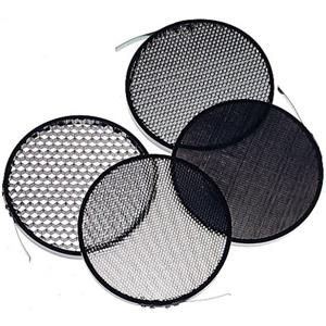 "View 33-08B Honeycomb Grid Set with Four 7"" Grids in 10, 20, 30 & 40 Degree. Product photo"