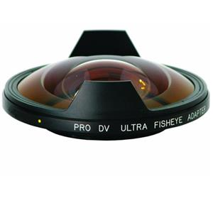 Special 0.3x Fisheye Adapter Lens for the Sony HDR-FX1 and HVR-Z1U HDV Video Camcorders. Product photo