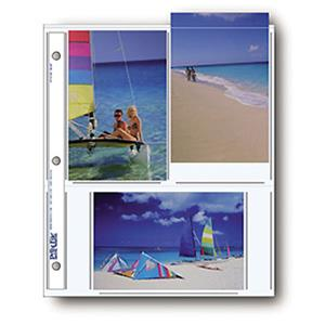 "Search Photo Pages Holds Six 4x6"" Prints, Pack of 500 Product photo"