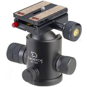 Remarkable MH-1300 Pro Series II Extra Large Socket & Ball Head with MH-657 Quick Release System - Max Load Product photo
