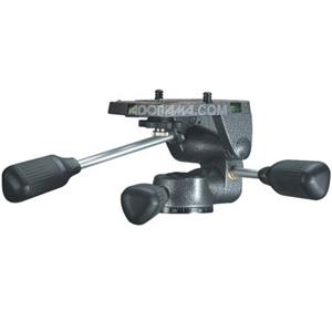 Magnificent G2270M Magnesium 3-way Low-Profile Rationelle Head with Fixed Long Plate, for Series 2 Tripods. Product photo