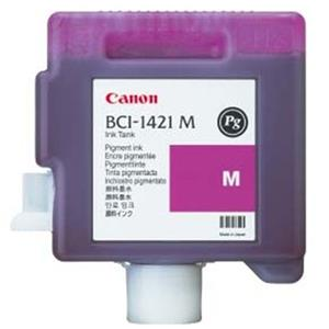 Info about BCI-1421M PG Magenta Ink Cartridge for the imagePROGRAF W8400 Inkjet Printer. Product photo