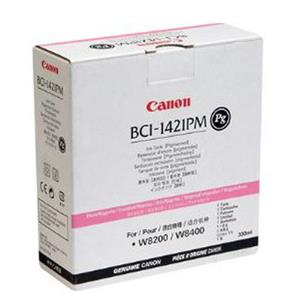 Affordable BCI-1421PM PG Photo Magenta Ink Cartridge for the imagePROGRAF W8400 Inkjet Printer. Product photo