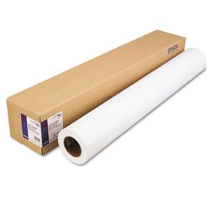 "Order Premium High Gloss Resin Coated Inkjet Paper, 7.0 mil., 44""x100' Roll. Product photo"