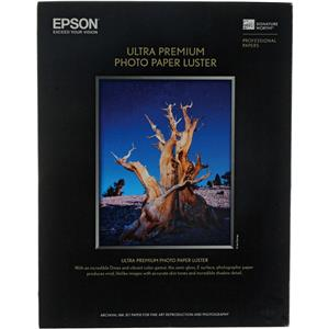 "Affordable Ultra Premium Luster, Resin Coated Photo Inkjet Paper, 10 mil., 13x19"", 100 Sheets Product photo"