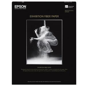 "Popular Exhibition Fine Art Fiber Glossy Inkjet Paper, 13 mil., 325gsm, 24x30"", 25 Sheets Product photo"
