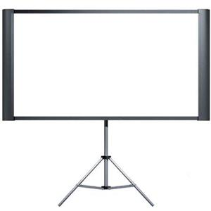 "Optimal Duet Ultra Portble Projection Screen, with Standard 65"" (52x40"", 4:3) and Widescreen 80&qu Product photo"