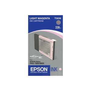 Splendid Light Magenta UltraChrome K3 Ink Cartridge for the Stylus Pro 7800 and 9800 Inkjet Printers, 220ml Product photo