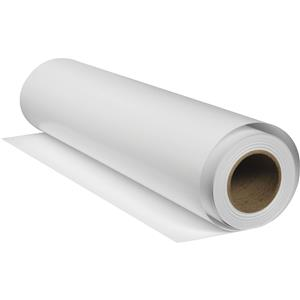 "Choose White Gloss Inkjet Film, 7 mil., 220gsm, 17""x50' Roll. Product photo"