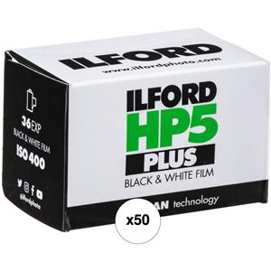 Stunning HP-5 Plus 400 Fast Black and White Professional Film, ISO 400, 35mm, 36 Exposures Propack 50 Product photo