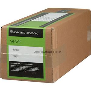 "Special Somerset Photo Enhanced, Radiant White Matte Velvet Inkjet Paper, 17.5 mil., 255gsm, 13""x33' Ro Product photo"