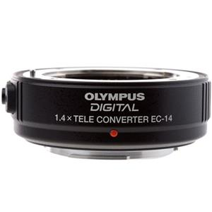New Zuiko EC-14, 1.4x E-ED Digital Tele Converter for f/2.8 E Digital SLR System Lenses. Product photo