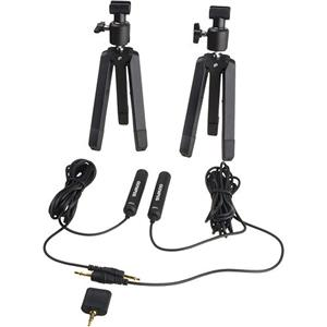 New ME-30W 2 Channel Microphone Kit for & E-P2 Digital Digital Stereo Voice Recorders Product photo
