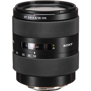 Info about 16-105mm f/3.5-5.6 DT Alpha A DSLR Mount Zoom Lens Product photo