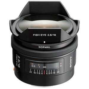 Purchase 16mm f/2.8 Alpha A DSLR Mount Fisheye Lens Product photo