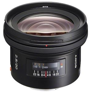 Purchase 20mm f/2.8 Alpha A DSLR Mount Wide Angle Lens Product photo