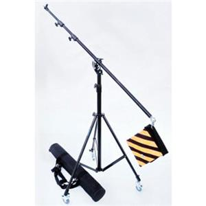 Magnificent 5120 3-Section Portable Light Boom Kit with Deluxe Boom Stand and Carrying Case, 3 Casters & Wei Product photo