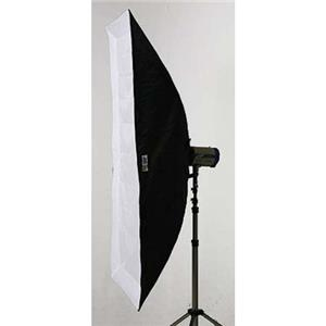 "Superb-quality 66x30"" Dual Phase Soft Box with White Interior. Product photo"