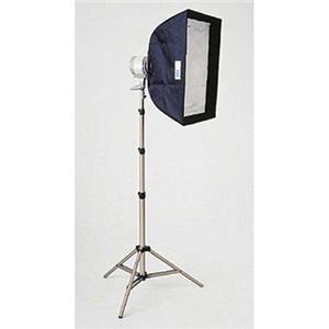 Pretty SL-500 Everlight Softbox Kit, Single 500 Watt Quartz Halogen Unit with Stand. Product photo