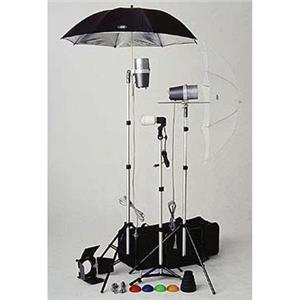 Impressive TL-365 Light Kit, 2 Versalight, 1 Slave Strobe with Stands, Umbrellas, & Accessories Product photo